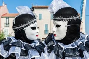 Couple masqué